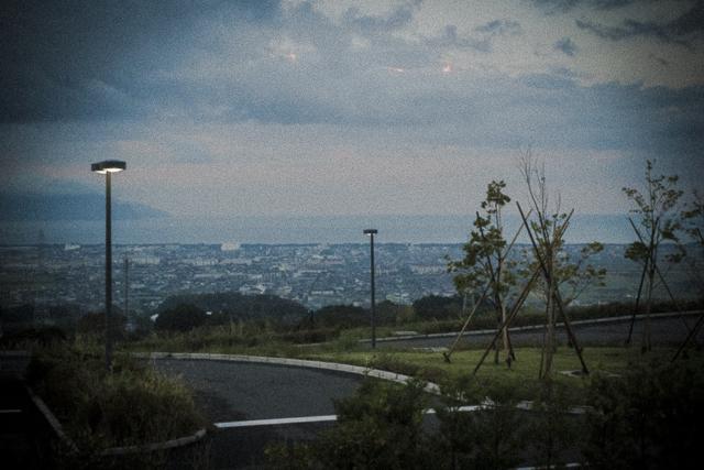 沼津SAから見える海