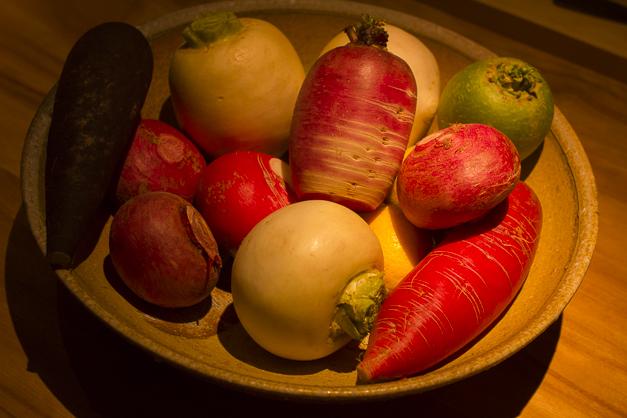 知多産の野菜