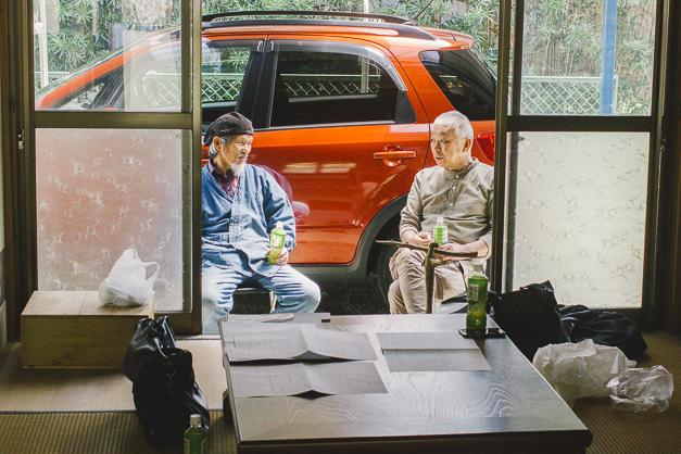 父と藤田さん