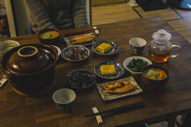アトリエの食卓